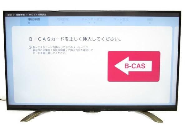 美品 【中古】 SHARP シャープ AQUOS LC-55U30 液晶テレビ 55V型 4K 2016年製【大型】 N3306523