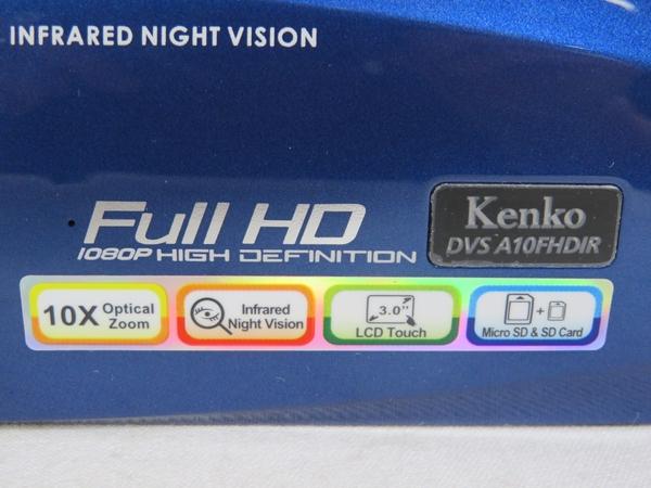 Kenko デジタル ムービー カメラ DVS A10FHDIR 三脚 ビデオカメラS3828432HED9IYW2