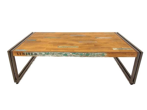 【中古】 d-Bodhi ディーボディ FERUM INDUSTRIAL フェルム インダストリアル DINING TABLE ダイニング テーブル 家具 【大型】 S3162427