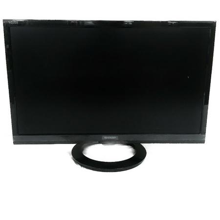 【中古】 SHARP AQUOS LC-22K40-B 液晶テレビ 22型 2016年製 TV 映像 リモコン付 家電 ブラック アクオス シャープ W3903676