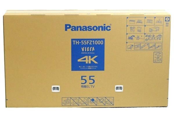 未使用 【中古】 Panasonic パナソニック TH-55FZ1000 デジタル ハイビジョン 液晶 55V型 テレビ 映像 機器 未開封 T3758898