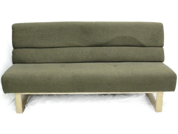 【中古】 カリモク家具 3人掛 椅子 ダイニング ソファー ブランド 家具 【大型】 N2571806