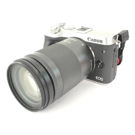 【中古】 CANON キャノン EOS M6 EF-M 18-150mm 1:3.5-6.3 IS STM レンズキット カメラ 趣味 機器 Y3906619