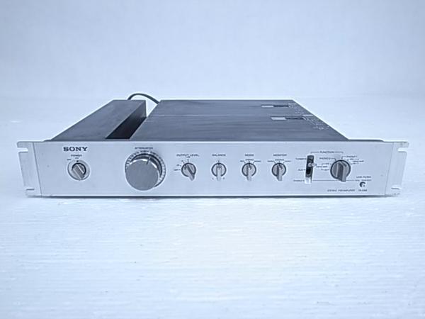 2020人気の 【】SONY TA-E88 DCプリアンプ シルバー 本体のみ 音響 オーディオ O2021996, 溝辺町 306aaa4f