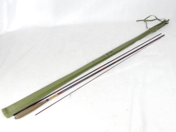 【中古】 SHIMANO シマノ 景仙 総塗り 8尺 八尺 和竿 釣具 K3858300