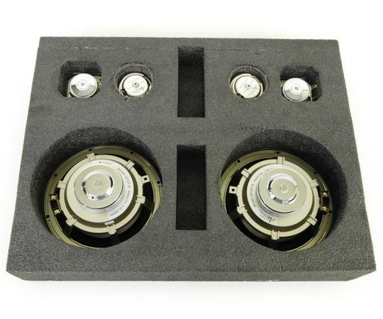 未使用 【中古】 Acoustic Harmony アコースティックハーモニー GSP1 3Way スピーカーシステム カーオーディオ スティルネスゴールド  N2724008