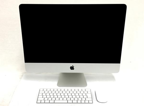 【中古】 Apple アップル iMac MNDY2J/A 一体型 PC 21.5型 Retina 4K 2017 i5 7400 3.0GHz 8GB HDD1TB Mojave 10.14 Radeon Pro 555 良好 T3906395