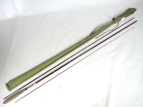 【中古】 SHIMANO シマノ 景仙総塗り 9尺 九尺 和竿 釣具 K3858301