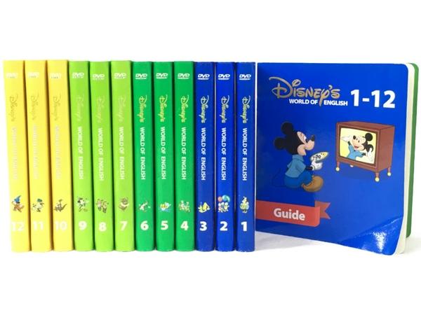 【中古】 DWE ディズニーの英語システム ストレートプレイ こども英語 教材 2011年頃 N3999638