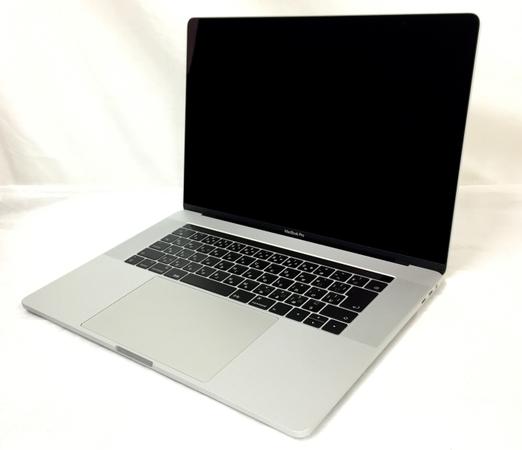 【中古】 Apple アップル MacBook Pro MPTU2J/A 2017 i7 7700HQ 2.8GHz 16GB SSD256GB Mojave 10.14 Radeon Pro 555 シルバー 中古 良好 T3836825