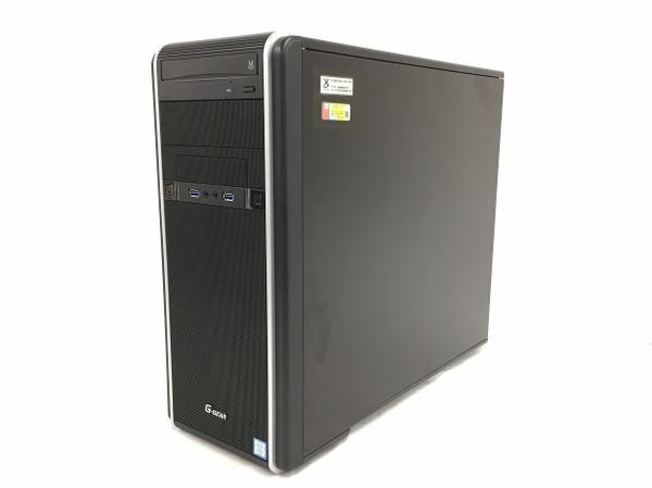 【中古】 TSUKUMO 】G-GEAR GA7J-H91T/CP2 デスクトップパソコン i7-7700 16GB 500GB 2TB GTX1070 Win10 T3463998