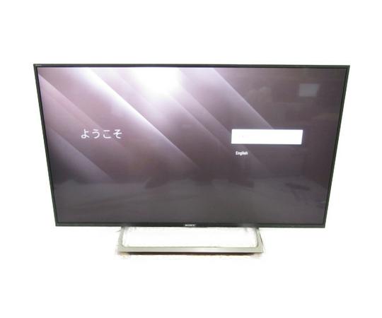 美品 【中古】 SONY BRAVIA KJ-49X8000E B デジタルハイビジョン液晶TV 49V型 【大型】 N3460384