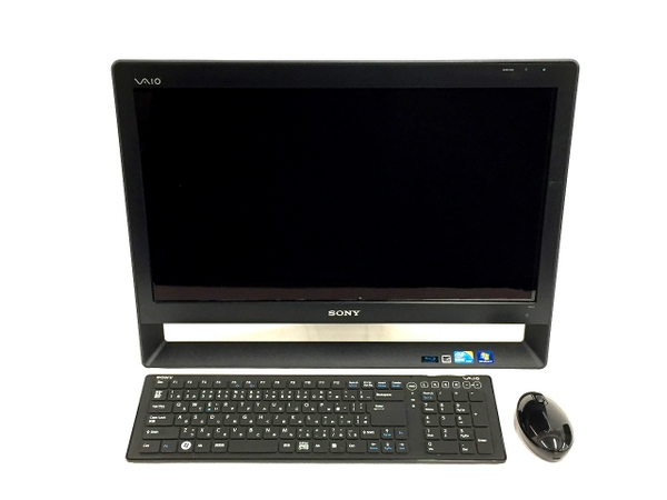 【中古】 SONY VAIO Jシリーズ VPCJ128FJ 一体型 パソコン i5 M460 2.53GHz 4GB HDD 1.0TB Win7 HP 64bit T3526580