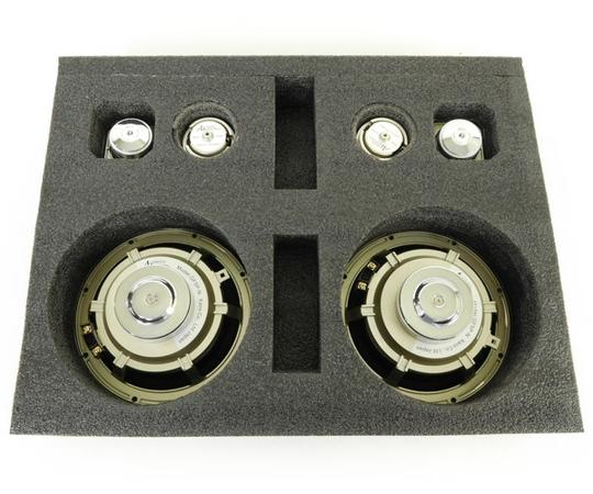 未使用 【中古】 Acoustic Harmony アコースティックハーモニー GSP1 3Way スピーカーシステム カーオーディオ スティルネスゴールド N2724004