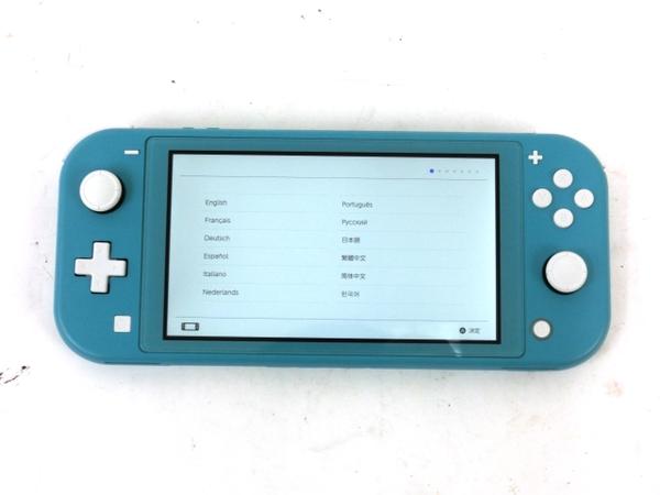 【中古】 Nintendo 任天堂 Switch Lite スイッチ ライト HDH-001 ゲーム機 ケース 付き M5896142