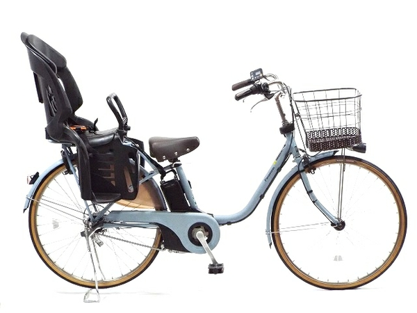 【中古】 Panasonic パナソニック 電動アシスト自転車 ビビスタイル BE-ELDS634V2 楽 【大型】 T3447472