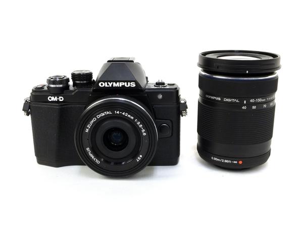 【中古】 OLYMPUS OM-D E-M10 Mark II ダブルズーム デジタル カメラ M3910064
