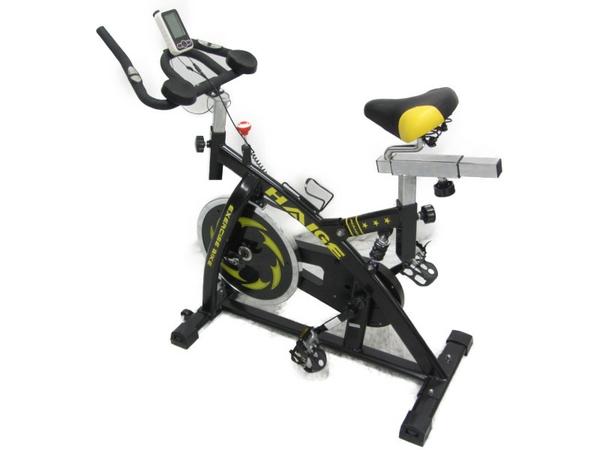 美品 【中古】 HAIGE EXERCISE BIKE ハイガー スピンバイク エクササイズ フィットネス【大型】 N3909540