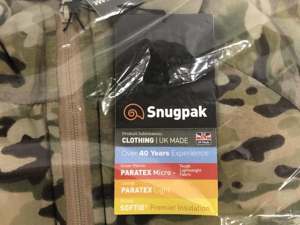 未使用Snugpak スナグパック MML9 ソフティースモック ジャケット マルチカム XSサイズK4490431b76Yfgy