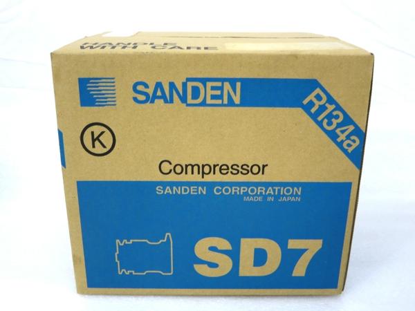 未使用 【中古】 SANDEN SD7 7189 コンプレッサー サンデン M3158005