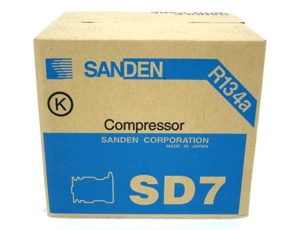 未使用 【中古】 SANDEN SD7 7189 コンプレッサー サンデン M3158006