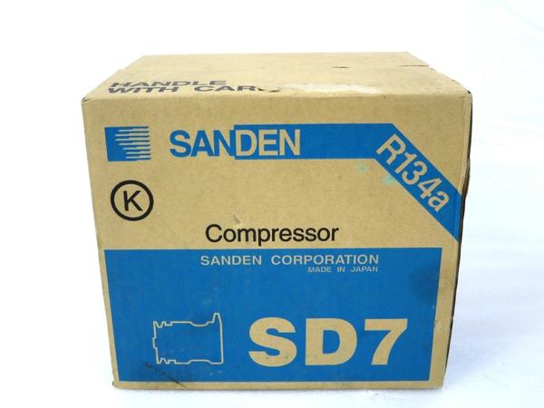 未使用 【中古】 SANDEN サンデン SD7B10 7189 コンプレッサー 自動車 パーツ M3158007