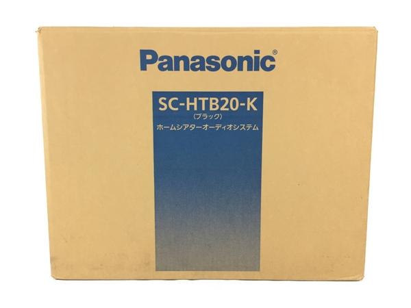 未使用 【中古】 パナソニック Panasonic シアターバー SC-HTB20-K N3909525