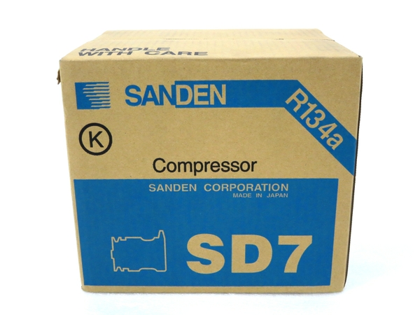 未使用 【中古】 SANDEN サンデン SD7B10 7189 コンプレッサー 自動車 パーツ M3158008