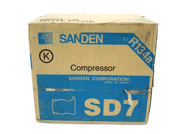 未使用 【中古】 SANDEN SD7 7189 コンプレッサー サンデン M3158010