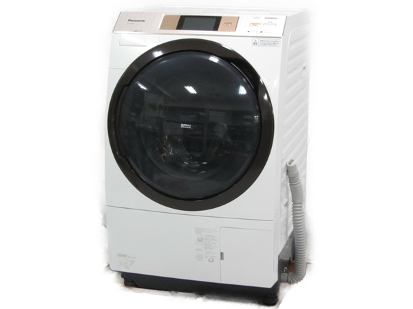 【中古】 Panasonic ドラム式 洗濯機 NA-VX5E3L 2016年製 10kg 【大型】 N3794522