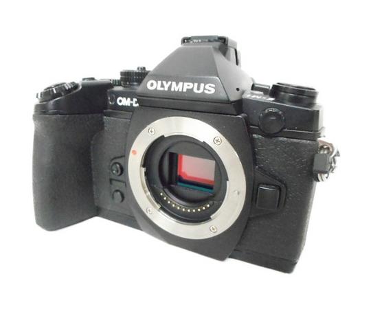 【中古】 OLYMPUS OM-D E-M1 カメラ ミラーレス一眼 ボディ ブラック 中古 訳あり W3532129