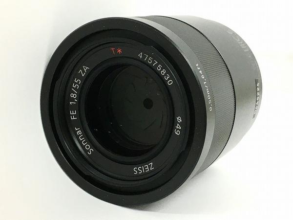 セール 登場から人気沸騰 中古 4年保証 SONY SEL55F18Z Sonnar FE 1.8 55mm T5809263 カメラ レンズ ZA T E-mount