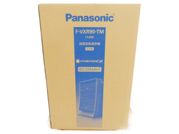 未使用 【中古】 未開封 Panasonic パナソニック F-VXR90-TM 加湿 空気 清浄機 家電 Y3539254