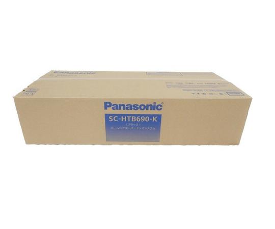 未使用 【中古】 Panasonic SC-HTB690-K シアターバー ホームシアター オーディオ システム パナソニック W3559048