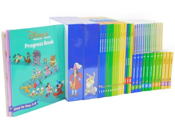 【中古】 DWE ディズニー ワールドイングリッシュ メインプログラム 教材 こども英語 2014年 N3536707