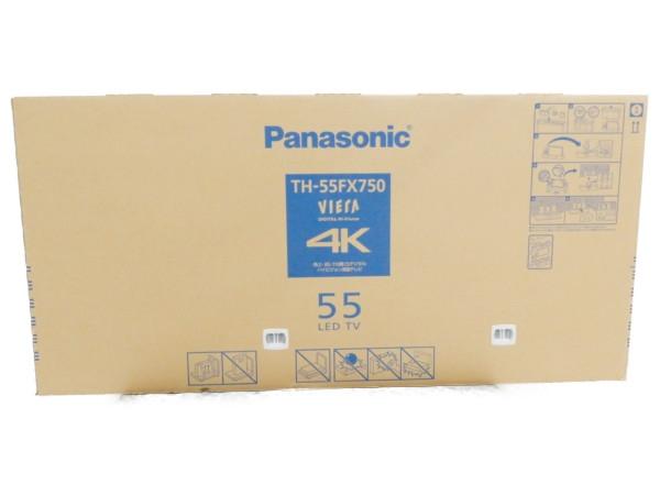 未使用 【中古】 未開封 Panasonic パナソニック VIERA ビエラ TH-55FX750 液晶 テレビ 55型 映像 機器 【大型】 Y3808587