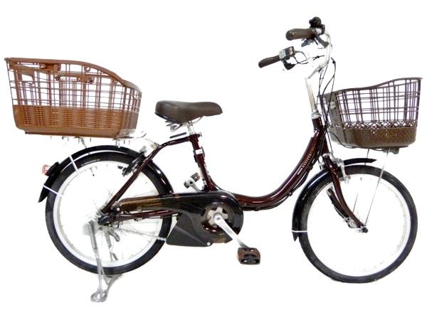 【NEW限定品】 【】 BRIDGESTONE ブリジストン アシスタユニプレミア A2UP26 20インチ リアバスケット 電動 自転車 楽直 【大型】 Y2735182, 比和町 59b3bfd1
