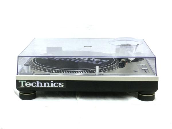 【中古】 中古 TECHNICS SL-1200MK3D ターンテーブル テクニクス カートリッジ SHURE M44G 音響機材 M4920312
