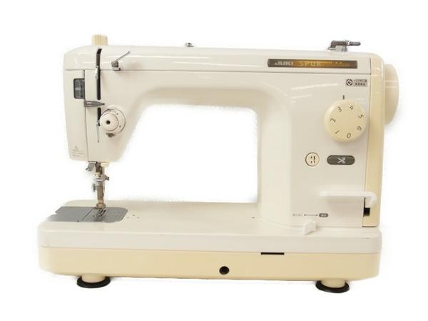 【中古】 JUKI ジューキ SPUR 98 deluxe TL-98DX 業務用 直線本縫い ミシン ホワイト S3281353