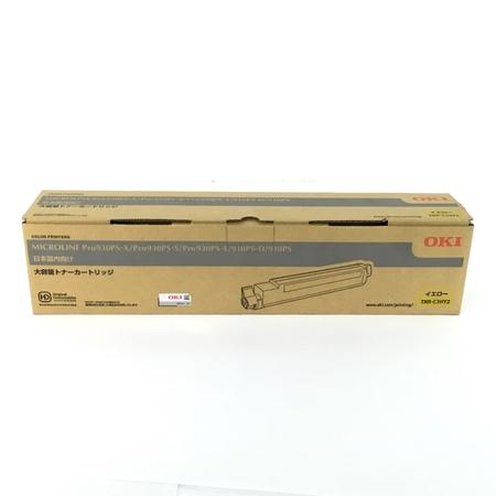 未使用 【中古】 OKI 沖データ TNR-C3HY2 トナーカートリッジ イエロー オフィス 用品 Y3883417