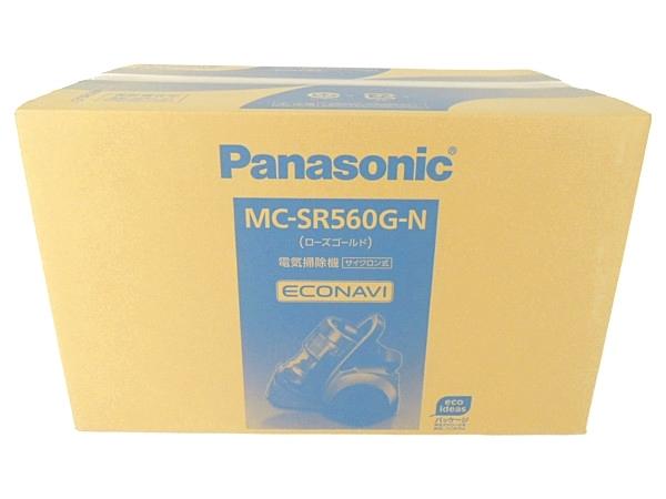 未使用 【中古】 Panasonic MC-SR560G-N 掃除機 ダブルメタル プチサイクロン ローズゴールド Y3313284