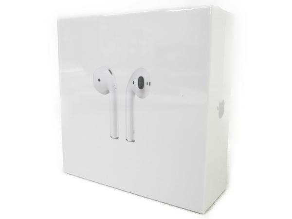 未使用 【中古】 Apple AirPods MMEF2J/A ワイヤレス イヤホン イヤフォン N3455264