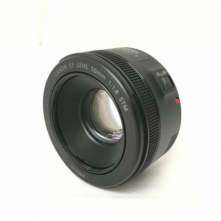 【中古】 Canon EF Lens 50mm 1:1.8 STM カメラ レンズ ES-68 趣味 キャノン 中古 良好 W3658145