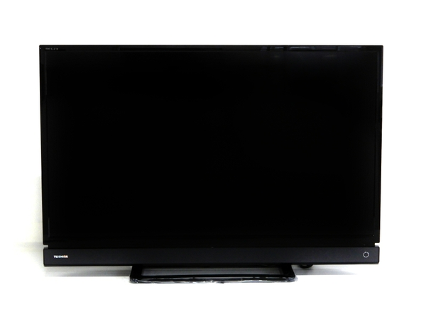 【中古】 良好 TOSHIBA 東芝 REGZA レグザ 32S21 32V型 LED 液晶 TV テレビ 32インチ ブラック 2017年製 F3565503