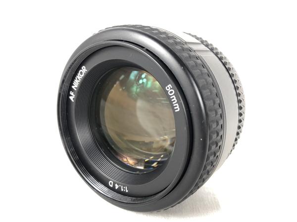 美品 【中古】 Nikon ニコン Nikkor 50mm F1.4D カメラ レンズ カメラ ニコンFマウント K3904068