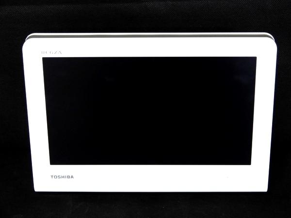 【中古】 良好 TOSHIBA 東芝 10WP1 ポータブル テレビ TV 10.1V型 ホワイト F3528938