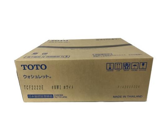 未使用 【中古】 未使用 TOTO TCF2222E ウォシュレット #NW1 ホワイト 温水洗浄便座 トイレ用品 家電 S5180160