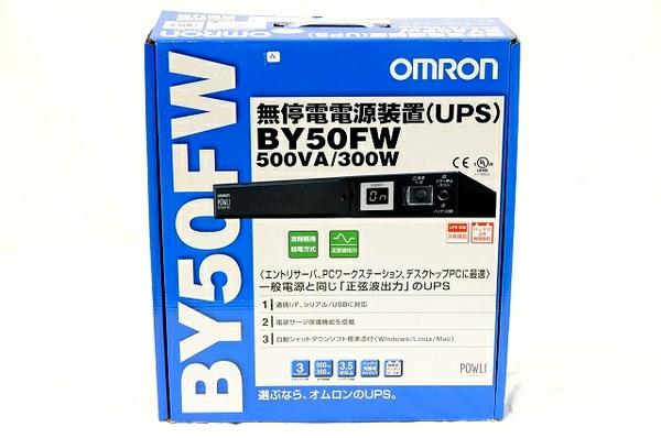 未使用 【中古】 OMRON オムロン BY50FW 無停電電源装置 UPS 周辺機器 T3906927