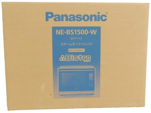 未使用 【中古】 未開封 Panasonic パナソニック NE-BS1500 スチームオーブンレンジ 【2018年 発売モデル!! 】 Y3656667