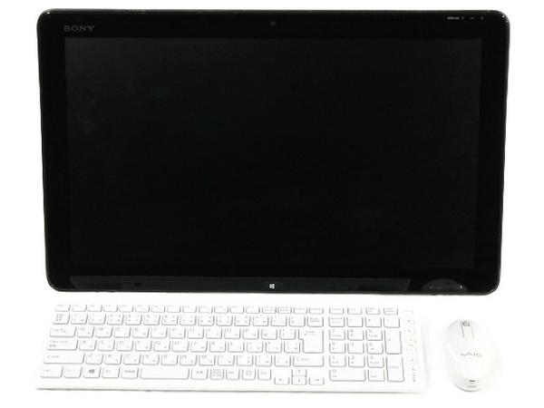 【中古】 Sony Vaio Tap 20 SVJ2022AJ 一体型 デスクトップ パソコン PC 20型 i7 3537U 2.00GHz 8GB SSD512GB Win8 64bit T3866983